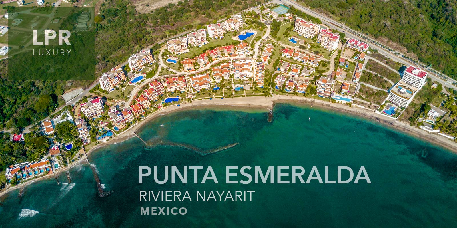 Punta Esmeralda - Punta de Mita Luxury beachfront vacation rental villas for sale in La Cruz de Huanacaxtle, Punta de Mita, Riviera Nayarit, North shore Puerto Vallarta, Mexico