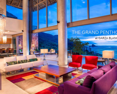 Penthouses of Puerto Vallarta - The Garza Blanca Grand Penthouse