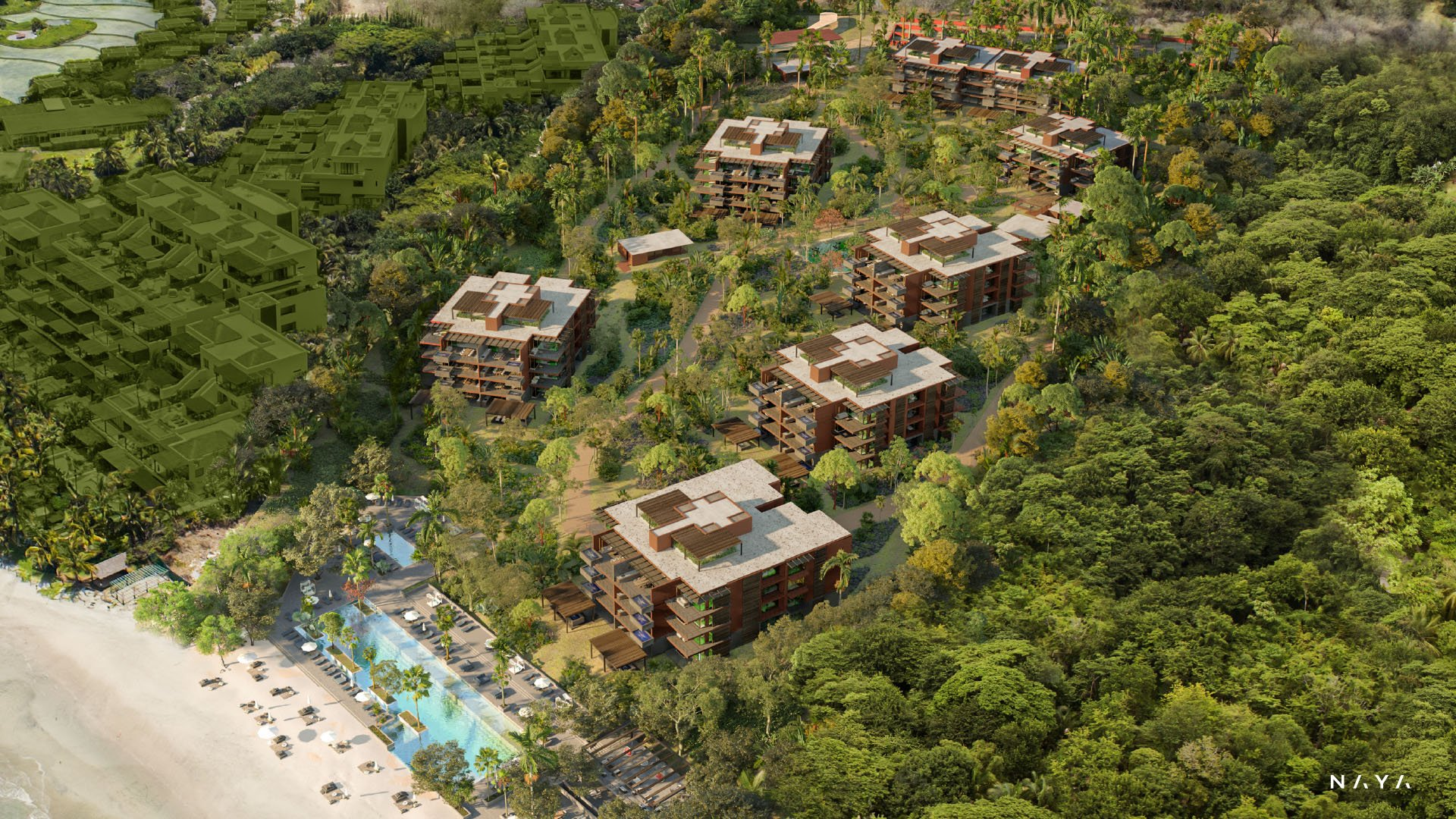 NAYA - Punta de Mita beachfront condos for sale - Riviera Nayarit, Mexico