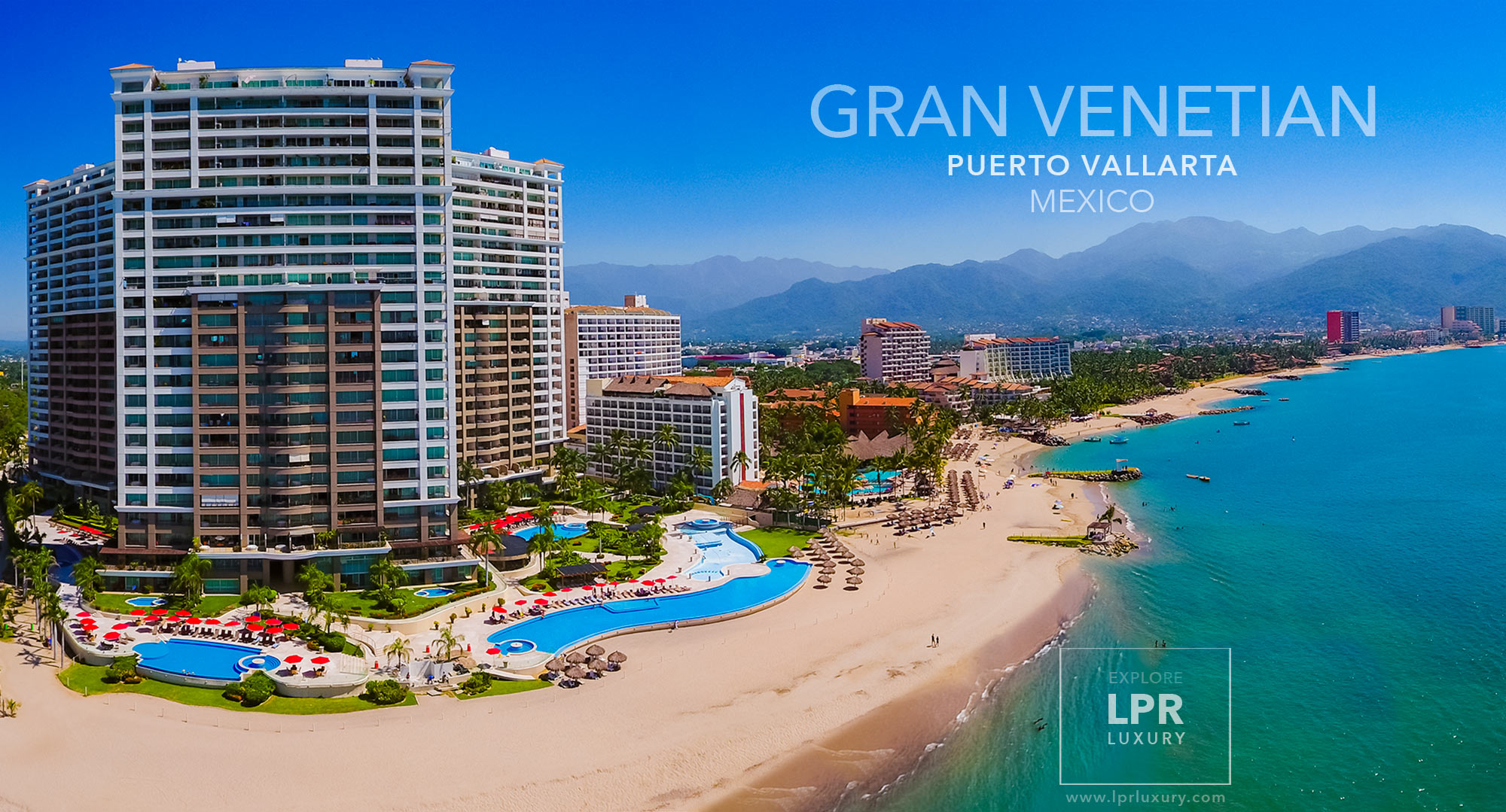 Grand Venetian - Puerto Vallarta vacation rental condos and real estate condominiums - Mexico