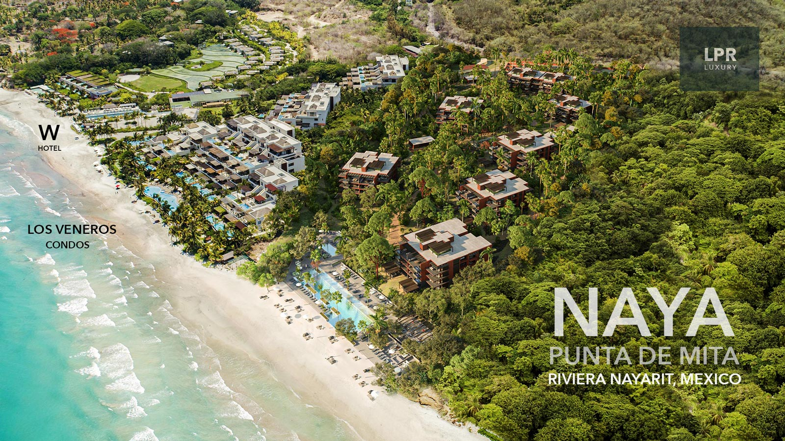 NAYA - Punta de Mita beachfront condos for sale - Riviera Nayarit, Mexico