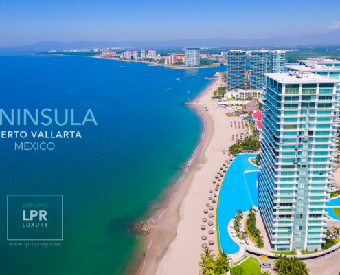 Peninsula Puerto Vallarta - Luxury condominiums for sale and rent - beachfront real estate condos and vacation rentals