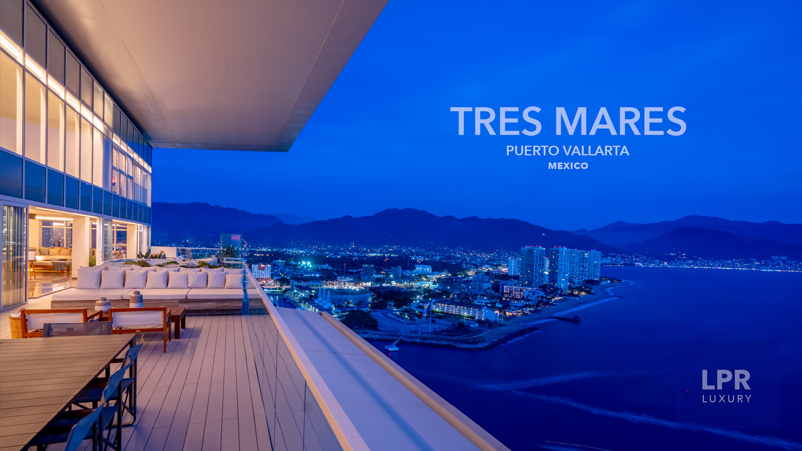 Tres Mares - Ultra Luxury Real estate in Marina Vallarta, Puerto Vallarta, Jalisco, Mexico - Condos for sale in Puerto Vallarta